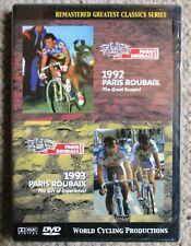 1992/93 Paris - Roubaix World Cycling Productions DVD set Sealed/New