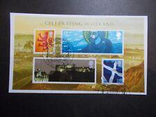 GB 2006 ~Celebrating Scotland M/S~Very Fine Used Set, on piece~ex fdc~UK Seller