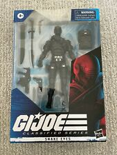 "Brand New Sealed Hasbro G.I. Joe Classified Series Snake Eyes 6"" Action Figure"