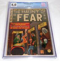 Haunt of Fear #17 (#3) CGC Universal Grade Comic 4.0 Origin Crypt of Terror SOTI