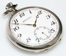 Zenith Open Face Mechanical (Hand-winding) Pocket Watches