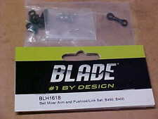 BLADE HELICOPTER PART - BLH1618 = BELL MIXER ARM & PUSHRD SET : B450, B400 (NEW)