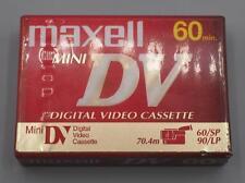 Maxell Premium Grade Mini DV Camcorder Tape Cassette 60 Minutes