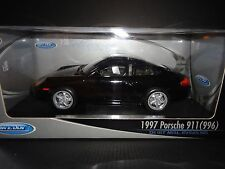 Welly Porsche 911 Carrera 996 1997 Black 1/18
