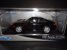 Welly Porsche 911 Carrera 996 1997 Black 1/18