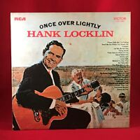 THANK LOCKLIN Once Over Lightly 1971 UK Vinyl LP Excellent Condition
