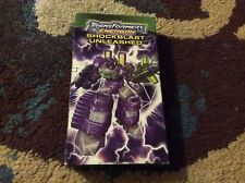Transformers Energon VHS Shockblast Unleashed 2005 Good Rare Autobots