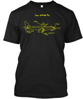 How Planes Fly -aviation - Magic Air Some More Very Hanes Tagless Tee T-Shirt