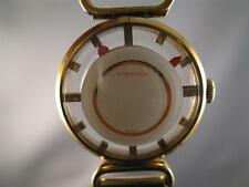 Vintage Ladies Juvenia 17 Jewel Mystery Dial Mechnical Mvt. Watch 1970's