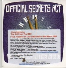 (AZ870)Official Secrets Act,The Girl From The BBC DJ CD