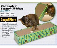 SCRATCH-N-MAZE CAT SCRATCHER & PLAY BALL SCRATCHING FUN FOR CATS SCRATCH POST