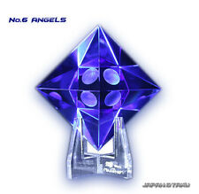EVANGELION Movie Ver No.6 ANGELS Crystal Glass Art Object