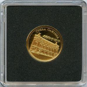 Les Merveilles de Paris Médaille Or gold Opéra Garnier