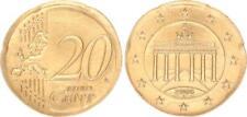 Fehlprägung: 20 Cent 2008F geprägt auf einem 10 Cent Rohling !!!(2) prägefrisch