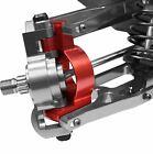 Racers Edge - X-Maxx Aluminum Front Hub Carrier Set - Red