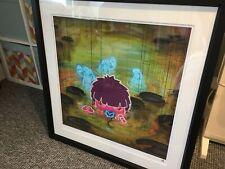 "TOM LEWIS ""Megan and the Horobu Blue"" 12/95 Large Print 55cm x 55cm"