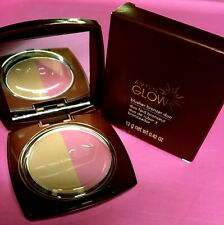 Avon Glow Blush Bronzer Duo ROSE GLOW L301 NEW Two Tone Compact NIB Rare HTF