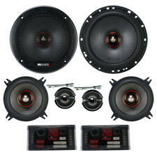 "MB Quart PS1-316 Premium Series 6-1/2"" 3-Way Component Speakers 6.5"" Comp NEW"