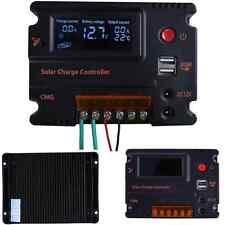 12V/24V 20A LCD Solar Panel Battery Regulator Charge Controller Powder Mppt Tool