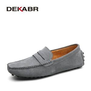 Men Loafers Shoes Soft Casual Shoes Moccasins Shoes Men Flats Driving Shoes