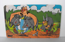 RARE Breakfast Board Asterix and Obelix and the PIGS vintage look MINT Germany