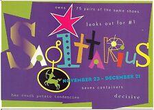 Sagitarius November 23 - December 21 Sign of the Zodiac Modern Rack Postcard