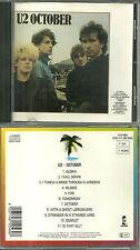CD - U2 : OCTOBER