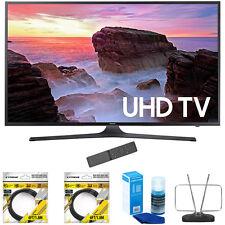 "Samsung 55"" 4K Ultra HD Smart LED TV 2017 Model with Cleaning Bundle"