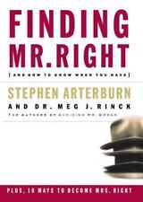 Finding Mr. Right: And How to Know When You Have-ExLibrary