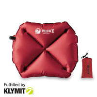 KLYMIT Pillow X Camping Travel Pillow Lightweight Small - CERTIFIED REFURBISHED