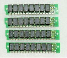 4 x NEC MC-41256A8B-12 256KB DRAM MODULE MEMORY RAM EXPANSION VINTAGE MOS