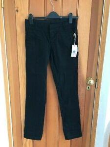 quiksilver black jeans slim 25 waist bnwt