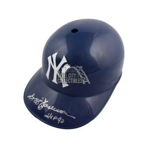 Reggie Jackson HOF 93 Autograph Yankees F/S Souvenir Replica Batting Helmet JSA