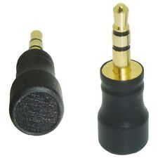 BEST TOP SELLER MICROPHONE 3.5mm GOLD STEREO TRS PLUG FOR DIGITAL SOUND RECORDER