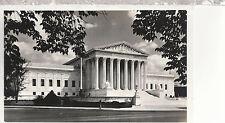 U S Supreme Court Building     Washington DC       B/W  Photo Postcard 6266