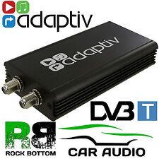 Digital Freeview DVB-T Car TV Tuner Receiver SD & T-Bar Active Antenna Aerials
