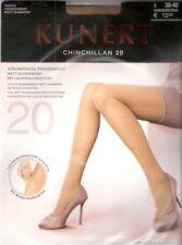 Kunert - CHINCHILLAN 20 - Strumpfhose Gr. I - V cashmere, teint, schwarz