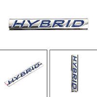 1PC 3D HYBRID Words Car Emblem Abzeichen Aufkleber Metal Rear Car Trunk Badge