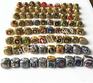 1903 to 2019 World Series Baseball Team Ring Souvenir Fan Men Gift