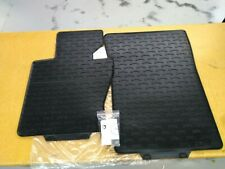 BMW Black FRONT Rubber Floor Mats OLD STYLE 2004-2010 E83 X3 3.0i 51470428949