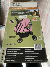 Pet Gear Happy Trails Plus Pink Dog Cat or other Pet Stroller -New