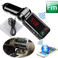 Wireless Bluetooth FM Transmitter Car Kit MP3 Player Speaker Handsfree W/ Charge