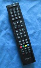Genuine Original Sharp RC4846 TV Control Tested,No Battery Cover