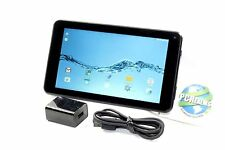 "Digiland 7"" Tablet 16GB Quad Core Android Wi Fi  DL721-RB Black - w/ Headphones"