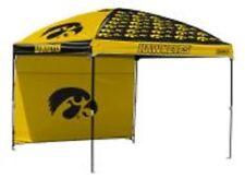 Iowa Hawkeyes NCAA Canopy Tent & Wall Tailgating Beach Picnic Flea Market10'x10'