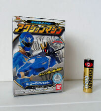 Power Rangers Pirates GOKAI-O GOKAIGER BLUE ZORD Candy Toy Bandai JAPAN