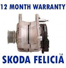 SKODA - FELICIA (6U1)(6U5) 1.6 LX GLX PICK UP (797) 1995 - 2002 RMFD ALTERNATOR