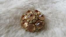 Unbranded Gold Vintage Costume Brooches/Pins (1960s)