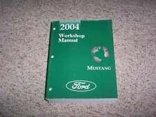 2004 Ford Mustang Shop Service Repair Manual GT Mach 1 Cobra Premium Convertible