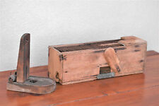 19th Century Handmade Wood & Metal Live Mouse Trap Cage & Penn. Rat Trapper